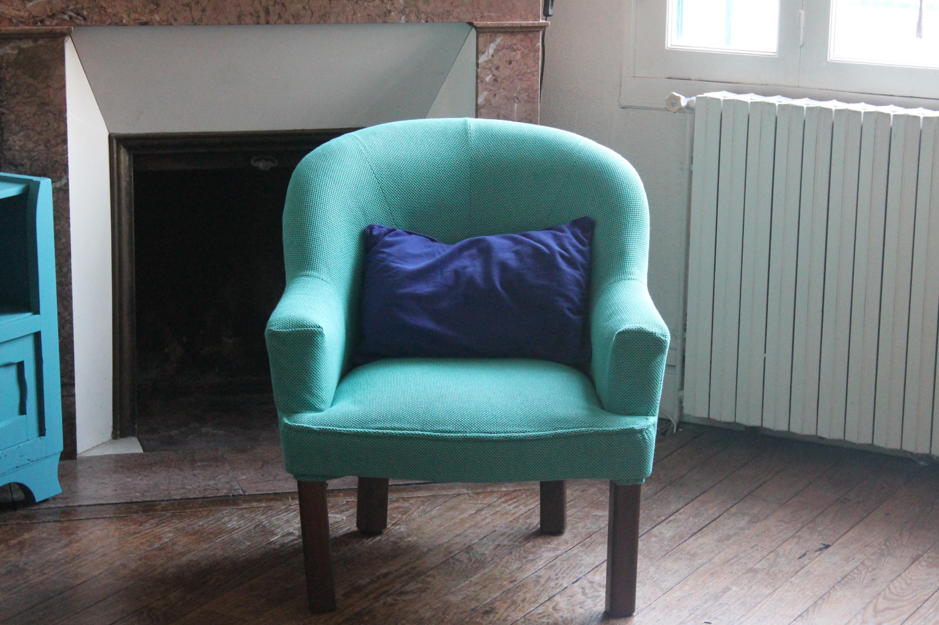 rfection exprimentale dun fauteuil crapaud - Comment Retapisser Un Canape