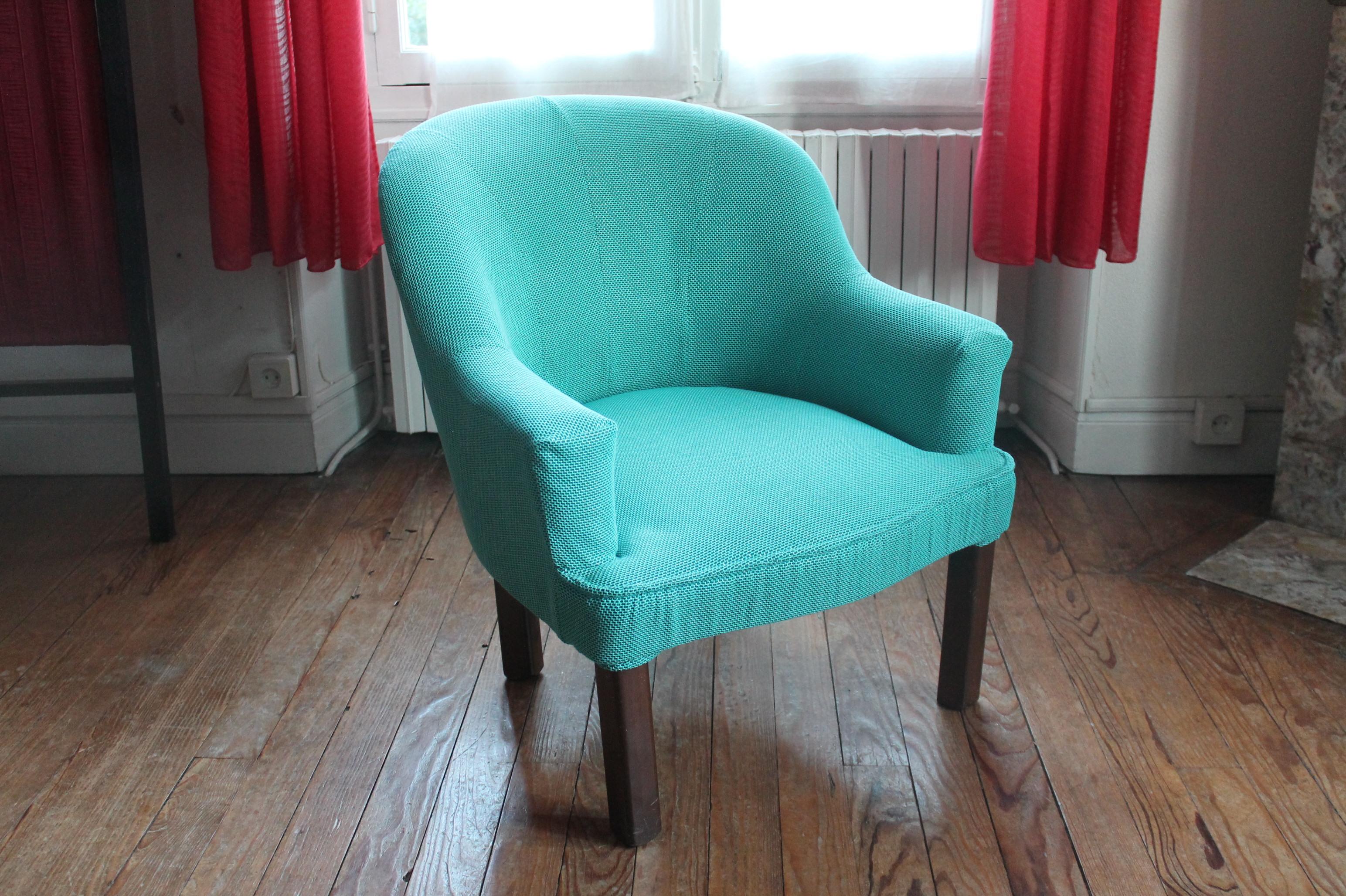 R fection exp rimentale d un fauteuil crapaud damngoodcaramel - Comment recouvrir un fauteuil crapaud ...